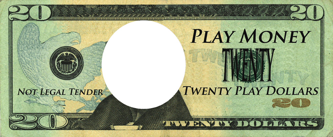 Play money template clipart graphic royalty free download Custom Fake Money Template - Costumepartyrun graphic royalty free download
