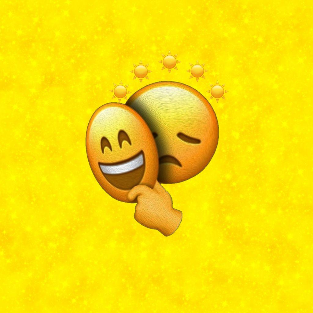 Fake smile clipart banner freeuse stock freetoedit yellow sad fake smile fakesmile galaxy brush... banner freeuse stock