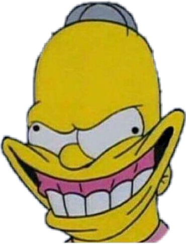Fake smile clipart svg transparent stock angry fake smile fakesmile homer simpsons funny lit lie... svg transparent stock