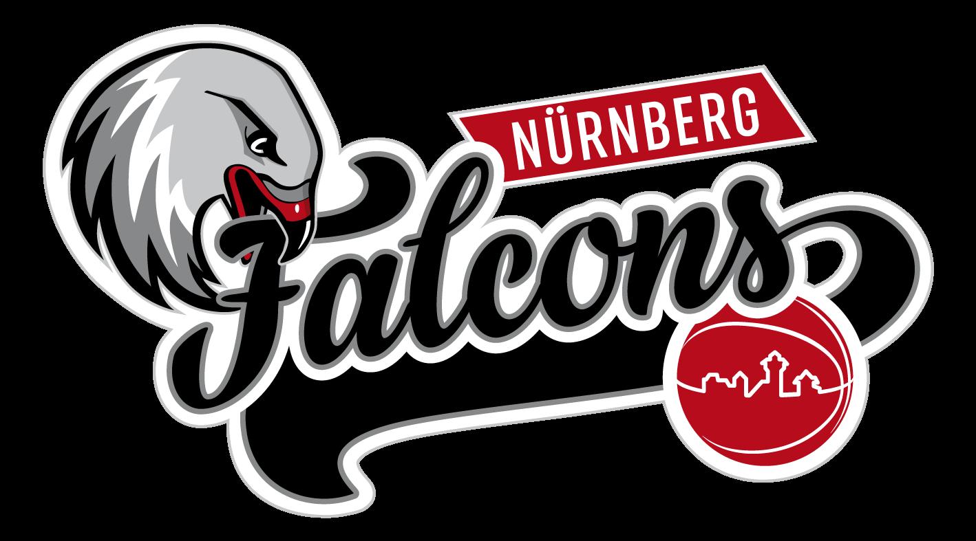Falcon basketball clipart banner freeuse library Die Nürnberg Falcons in der BARMER 2. Basketball Bundesliga banner freeuse library