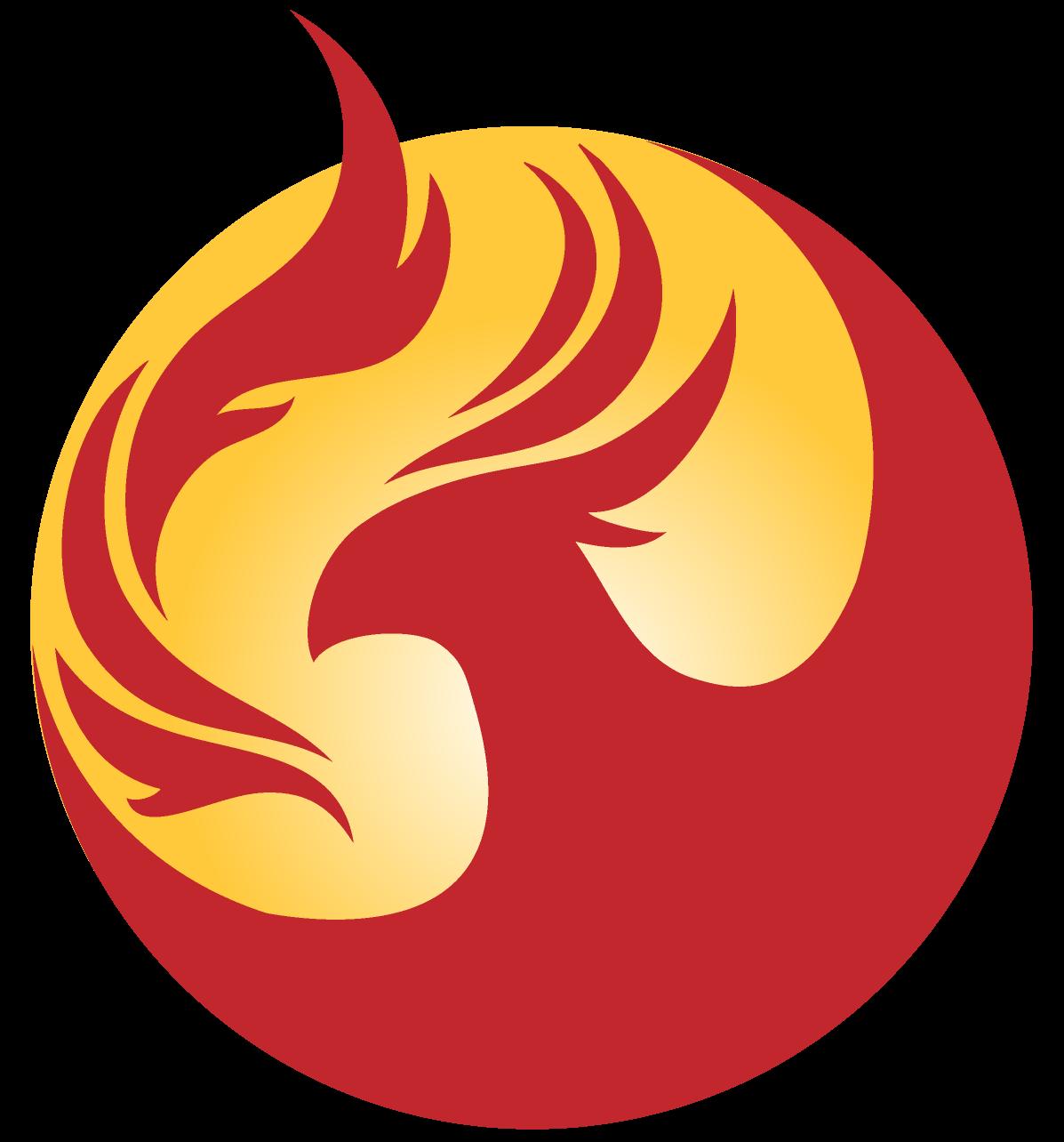 Falcon rising sun clipart banner Phoenix Logo | Arizona | Pinterest | Phoenix, Logos and Tattoo banner