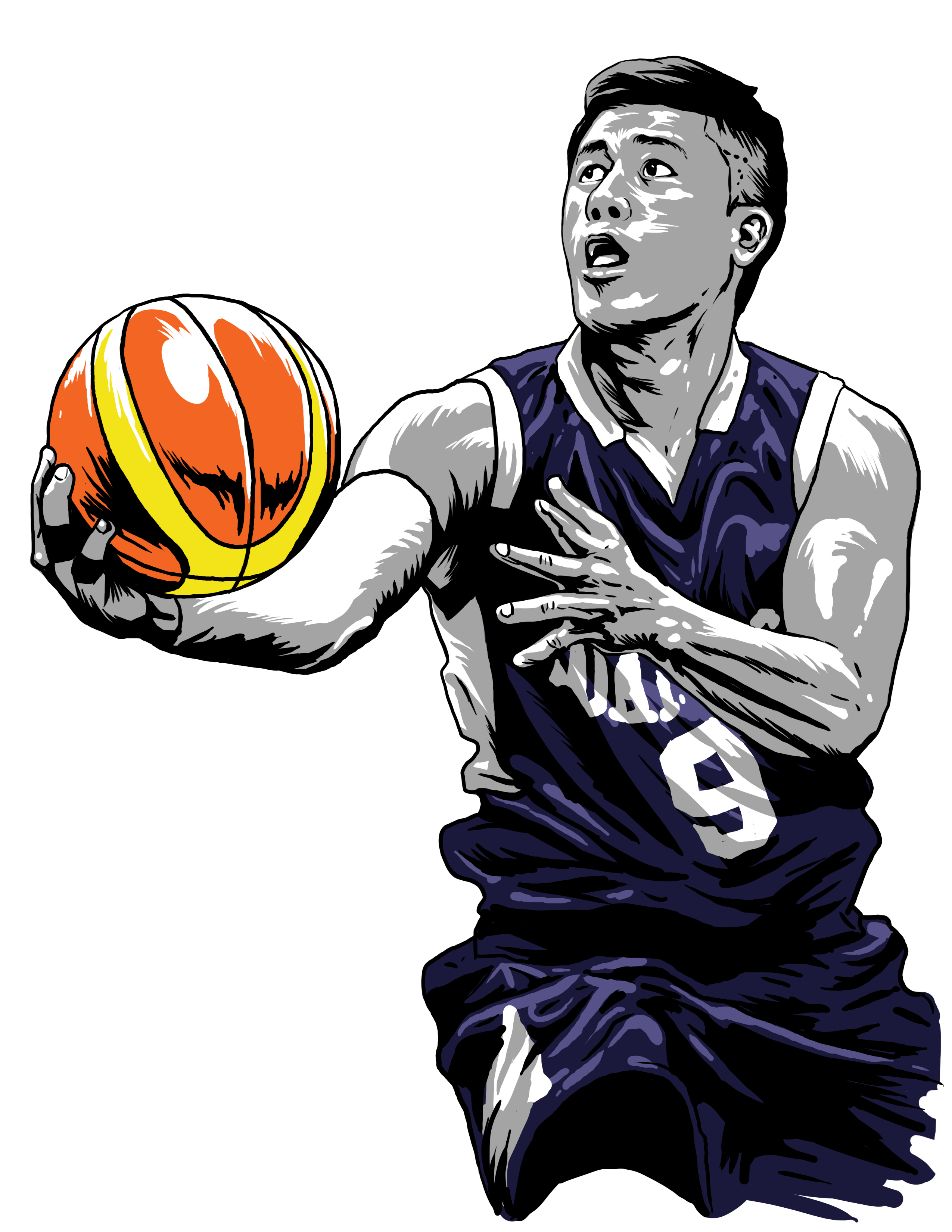 The life of jericho. Falcons basketball clipart