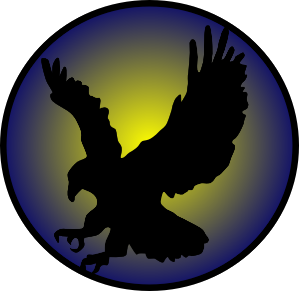 Falcons basketball clipart. Eagle silhouette at getdrawings