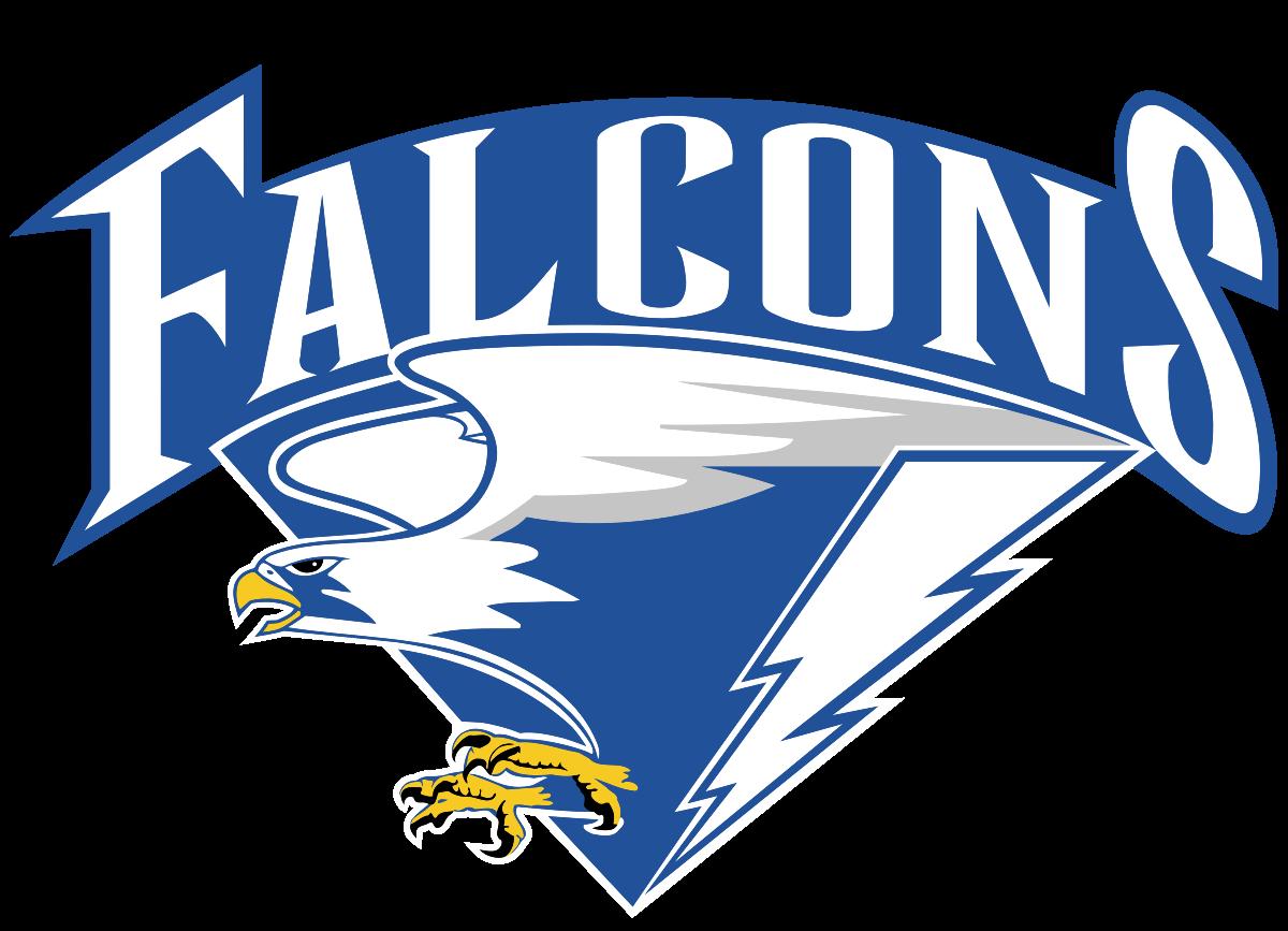 Falcons basketball clipart.  air force men