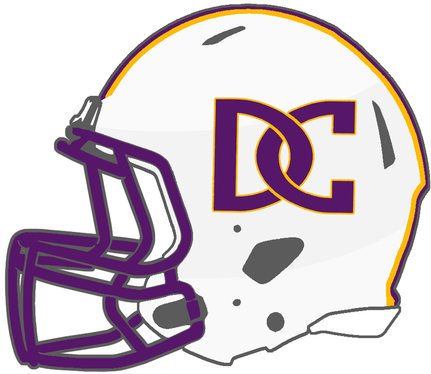 Falcons football helmet clipart graphic free library Mississippi High School Football Helmets: 6A graphic free library
