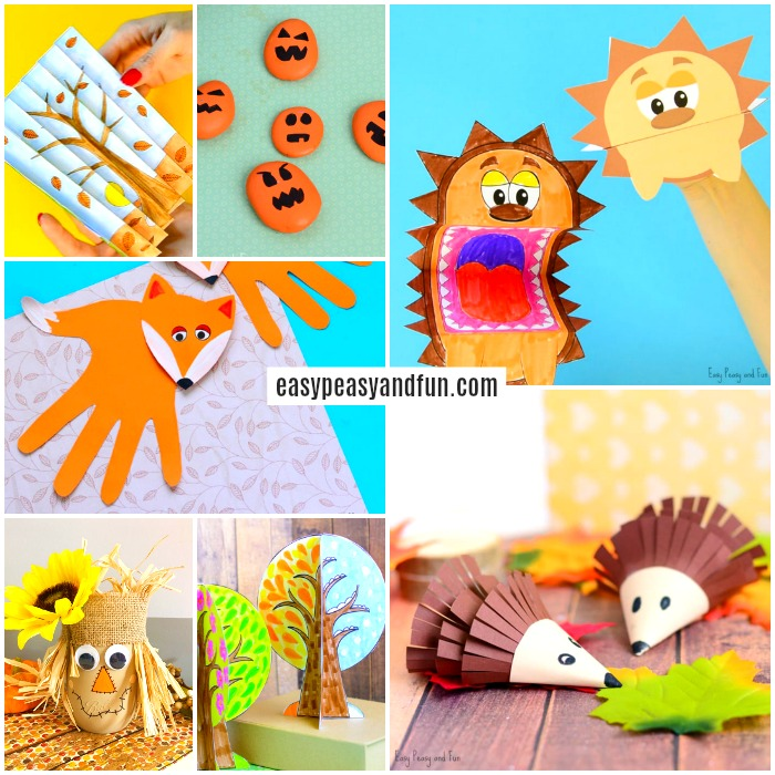 Fall activities for kids clipart clip art free stock Fall Crafts For Kids - Art and Craft Ideas - Easy Peasy and Fun clip art free stock