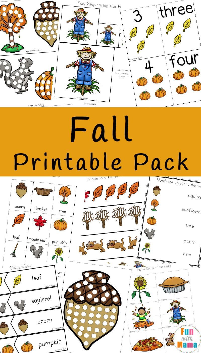Fall activities for kids clipart clip art black and white download Fall Theme Activities For Kids | Free Printable Activities | Fall ... clip art black and white download