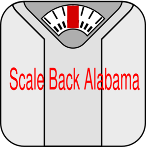 Fall back 2012 clipart clipart library Scale Back Alabama Clip Art at Clker.com - vector clip art online ... clipart library