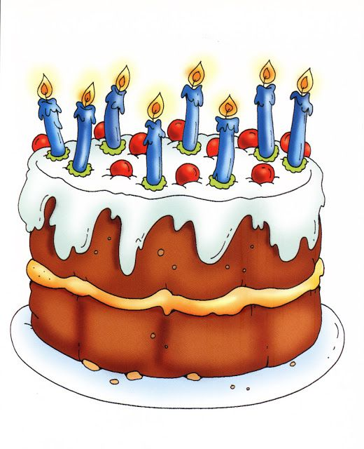 Fall birthday cake clipart free library 17 Best images about ღ Clipart ~ Birthday ღ on Pinterest ... free library