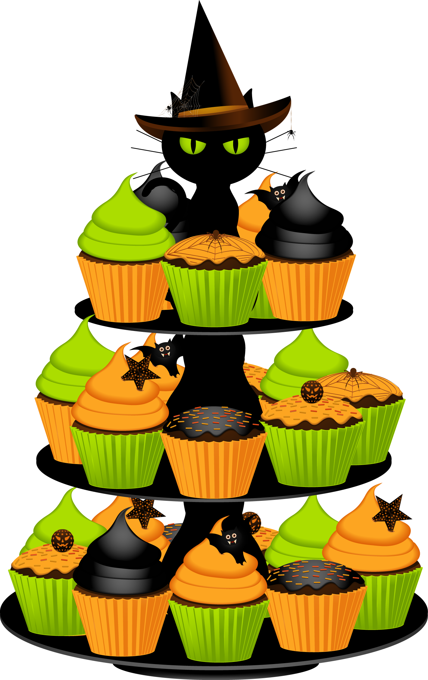 Cake walk pumpkin clipart clip royalty free Halloween Birthday Cake Clipart - Clipart Kid clip royalty free