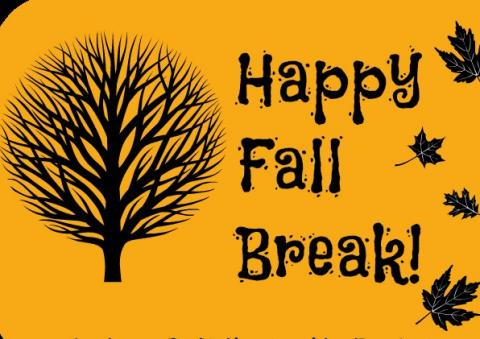 Fall break clipart vector royalty free download HAPPY FALL BREAK | Advanced Learning Center vector royalty free download