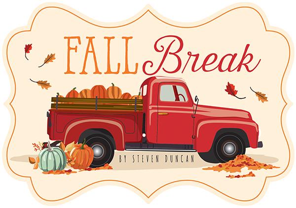 Fall break clipart clip art download Collections | echo park paper co. | Fall Break clip art download