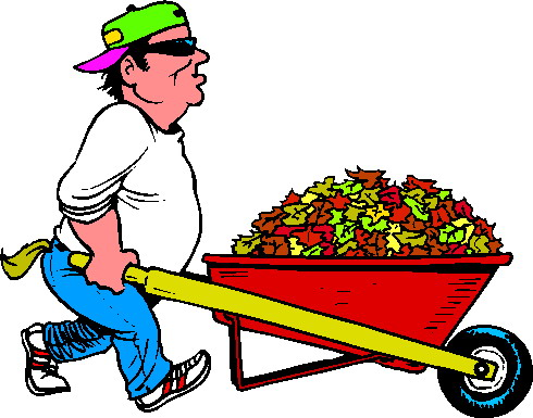 Yardwork clipart clipart freeuse download Fall Cleanup | Clipart Panda - Free Clipart Images clipart freeuse download