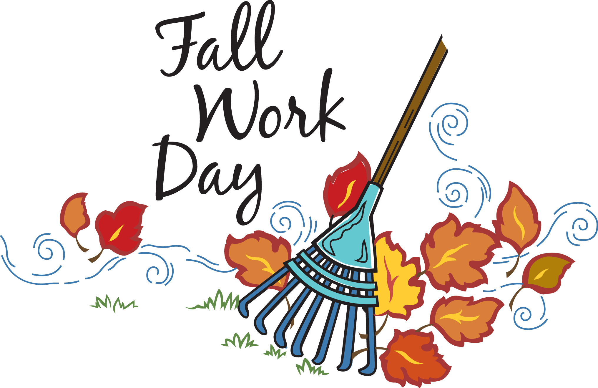 Library of fall cleanup clip art free library png files ...