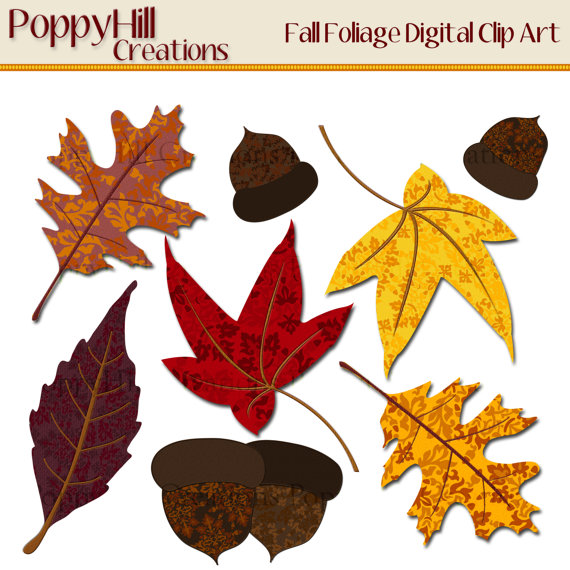 Fall clipart printables png free Fall Leaves Printables Clipart png free
