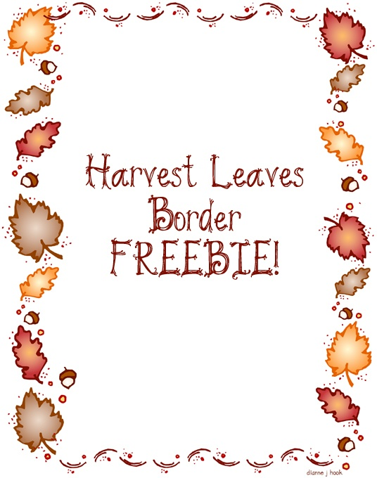 Fall clipart printables graphic free 17 Best images about Bulletin Clipart - Autumn on Pinterest ... graphic free