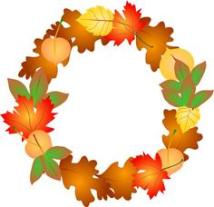 Free fall wreath clipart picture transparent download Fall Wreath Clipart | Free download best Fall Wreath Clipart on ... picture transparent download