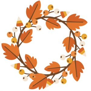 Fall clipart wreath clip transparent library Fall Wreaths, Fall Clipart | Clipart Panda - Free Clipart Images clip transparent library