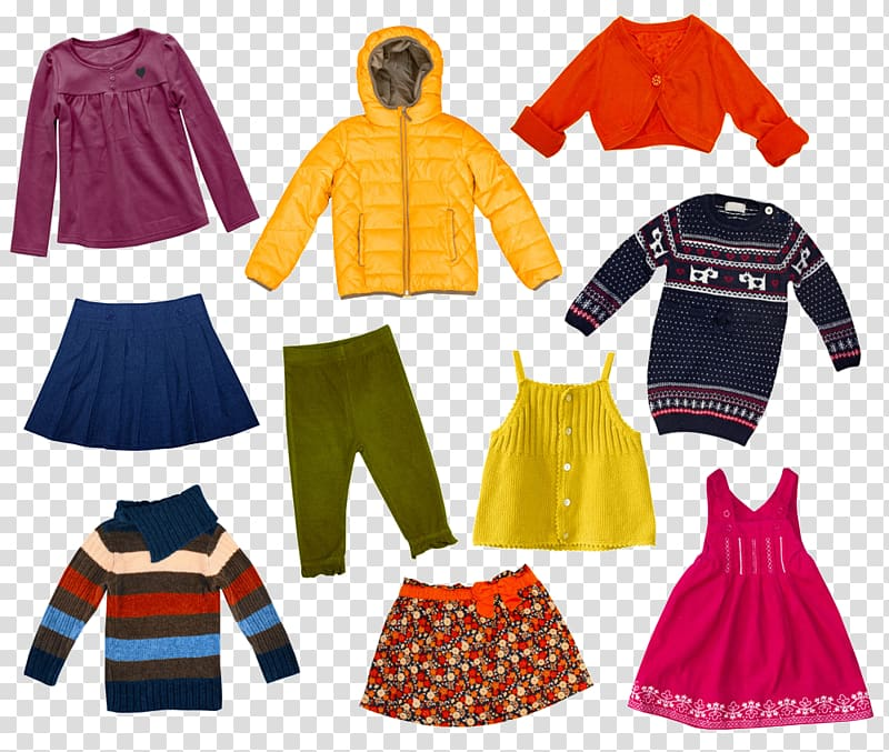 Fall clothes clipart banner download Childrens clothing Winter clothing , Children fall and winter ... banner download