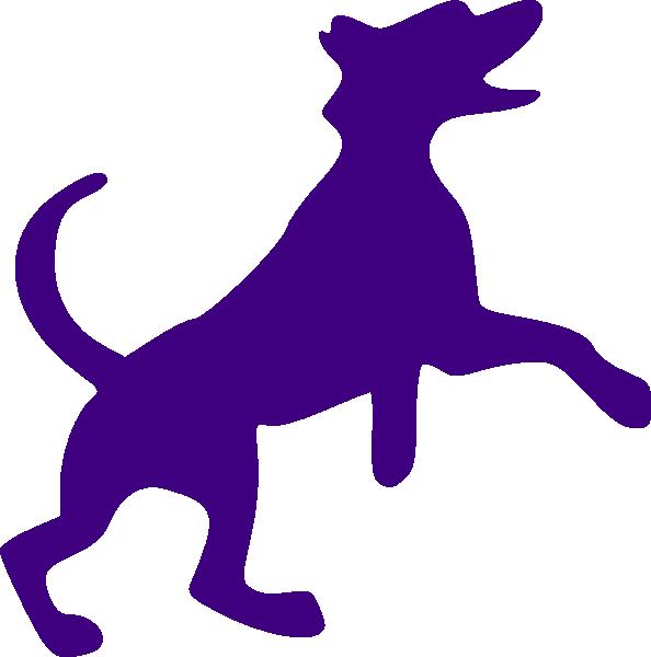 Fall dog clipart svg Purple Dog Sillohette Clip Art at Clker.com - vector clip art online ... svg