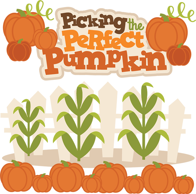 Flourish pumpkin clipart svg freeuse stock Picking The Perfect Pumpkin SVG cutting files for scrapbooks fall ... svg freeuse stock