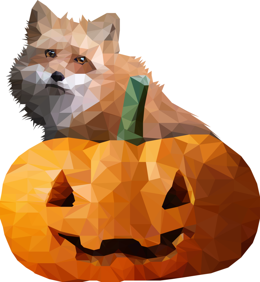 Fall fox and pumpkin clipart image transparent download Fox and pumpkin -- by 0l-Fox-l0 on DeviantArt image transparent download
