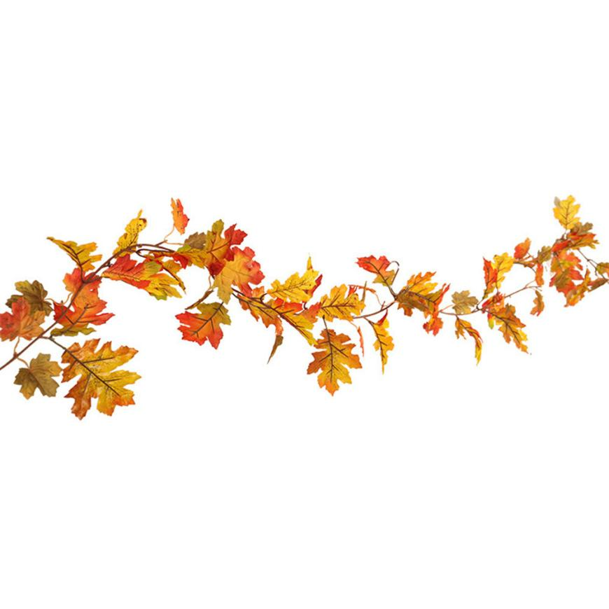 Fall garland clipart graphic freeuse library US $12.22  Halloween LED light string 1.5M LED Lighted Fall Autumn Pumpkin  Maple Leaves Garland Thanksgiving Decor Dropshipping 18aug14-in Glow Party  ... graphic freeuse library
