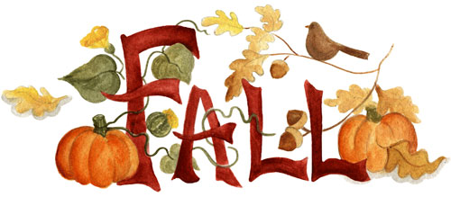 Fall header clipart jpg free download Days of the Year / Fall jpg free download