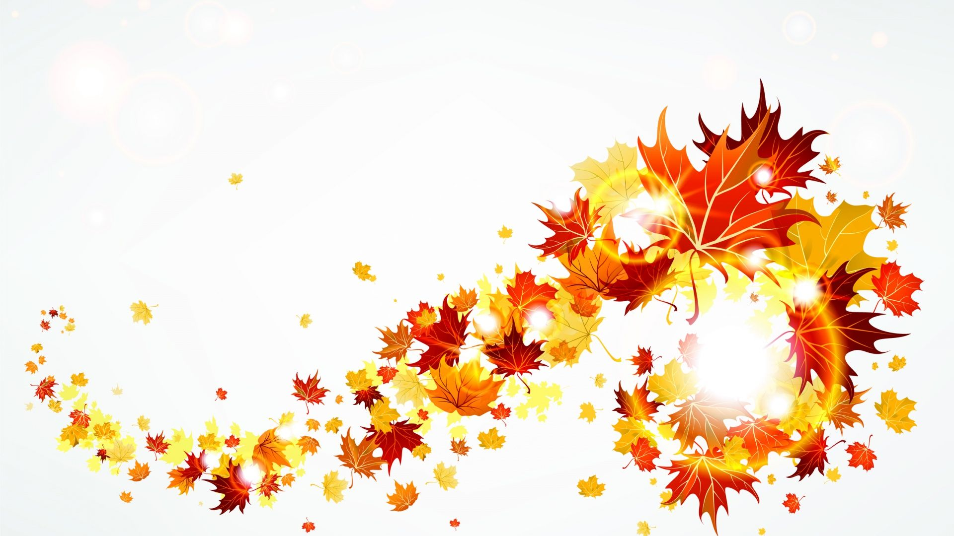 Gallery For Fall Leaves Clip Art Header - Free Clipart banner transparent stock