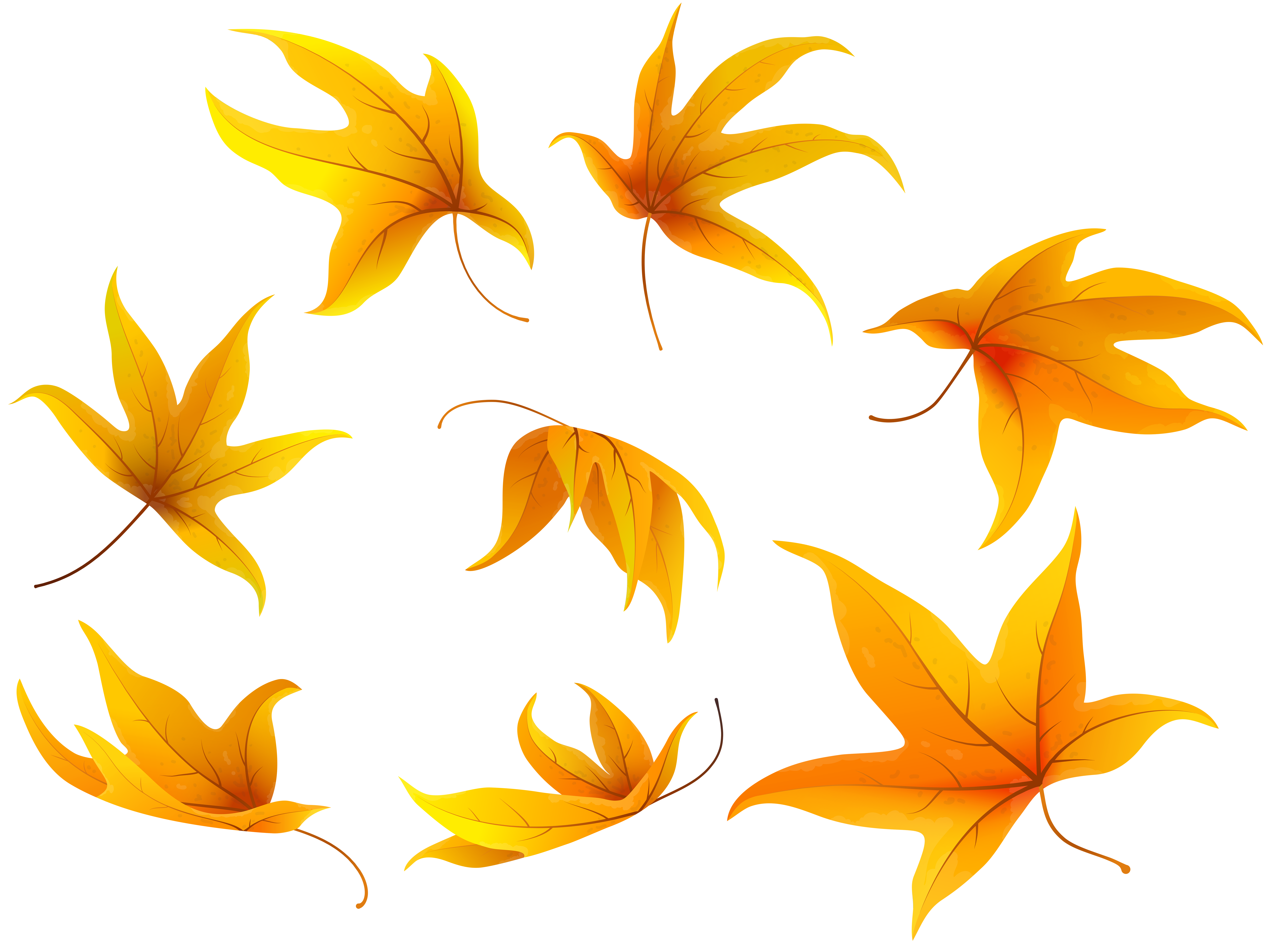 Fall heart clipart svg royalty free stock Fall Leaves PNG Clip Art Image | Gallery Yopriceville - High ... svg royalty free stock