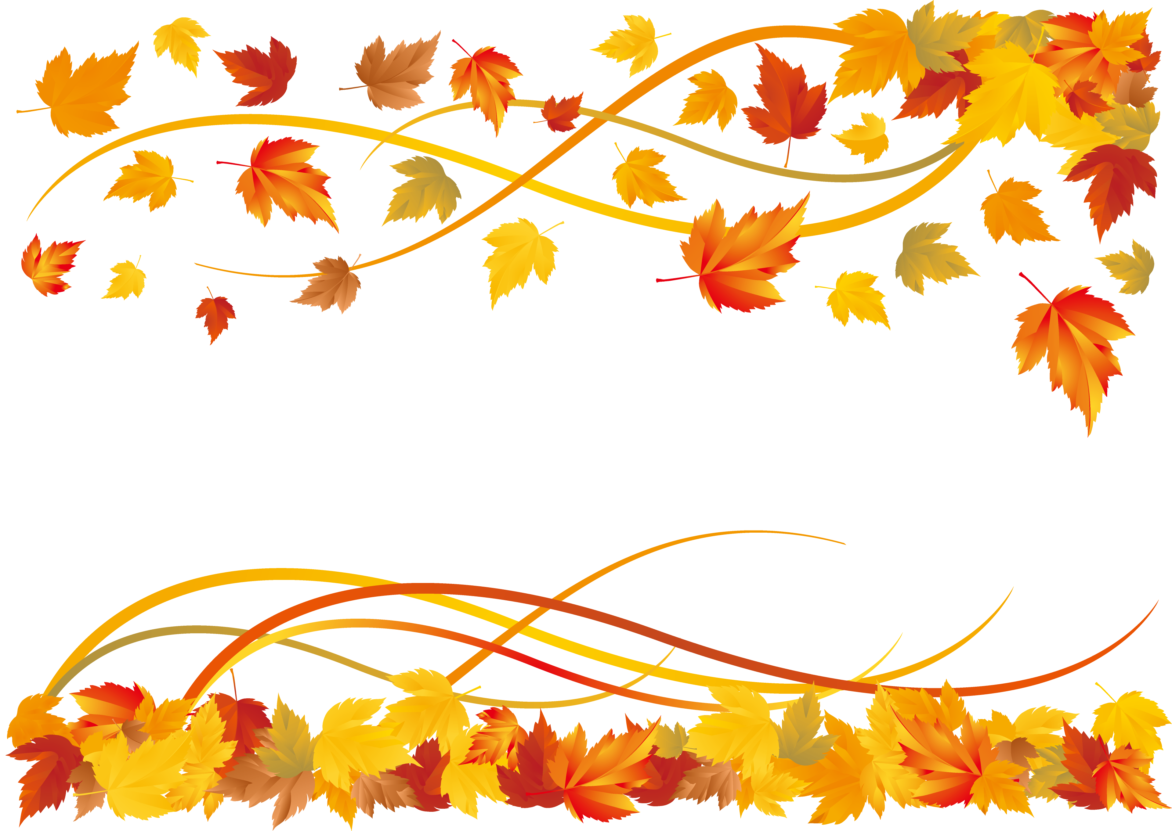 Fall leaf borders clipart free vector free stock Free Fall Borders | Free download best Free Fall Borders on ... vector free stock