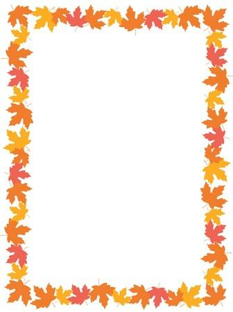 Library of fall leaf borders jpg black and white free png files ...