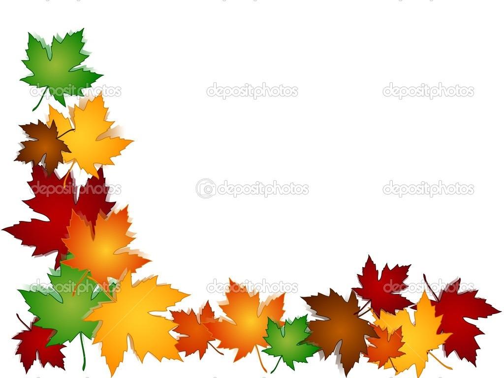 Fall leaf borders clipart free jpg library Fall Leaves Border In Clip Art | vectorborders.net jpg library