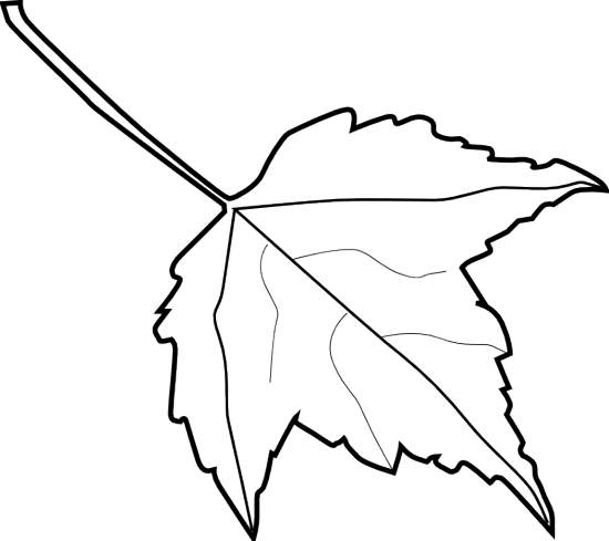 Fall leaf clipart black and white vector free library Free Leaf Images Black And White, Download Free Clip Art, Free Clip ... vector free library