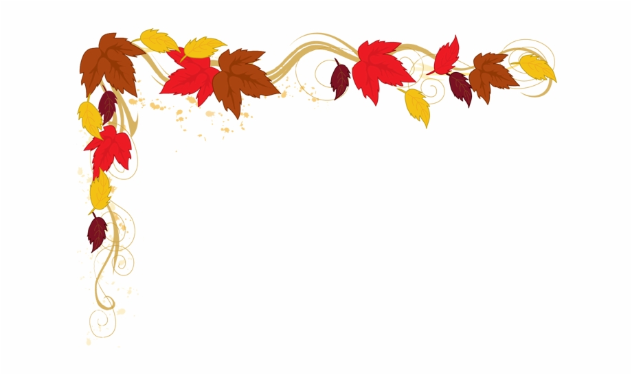 Autumn leaves clipart border vector black and white library Fall Border Autumn Clip Art Free Borders Danasoka Top - Fall Leaves ... vector black and white library