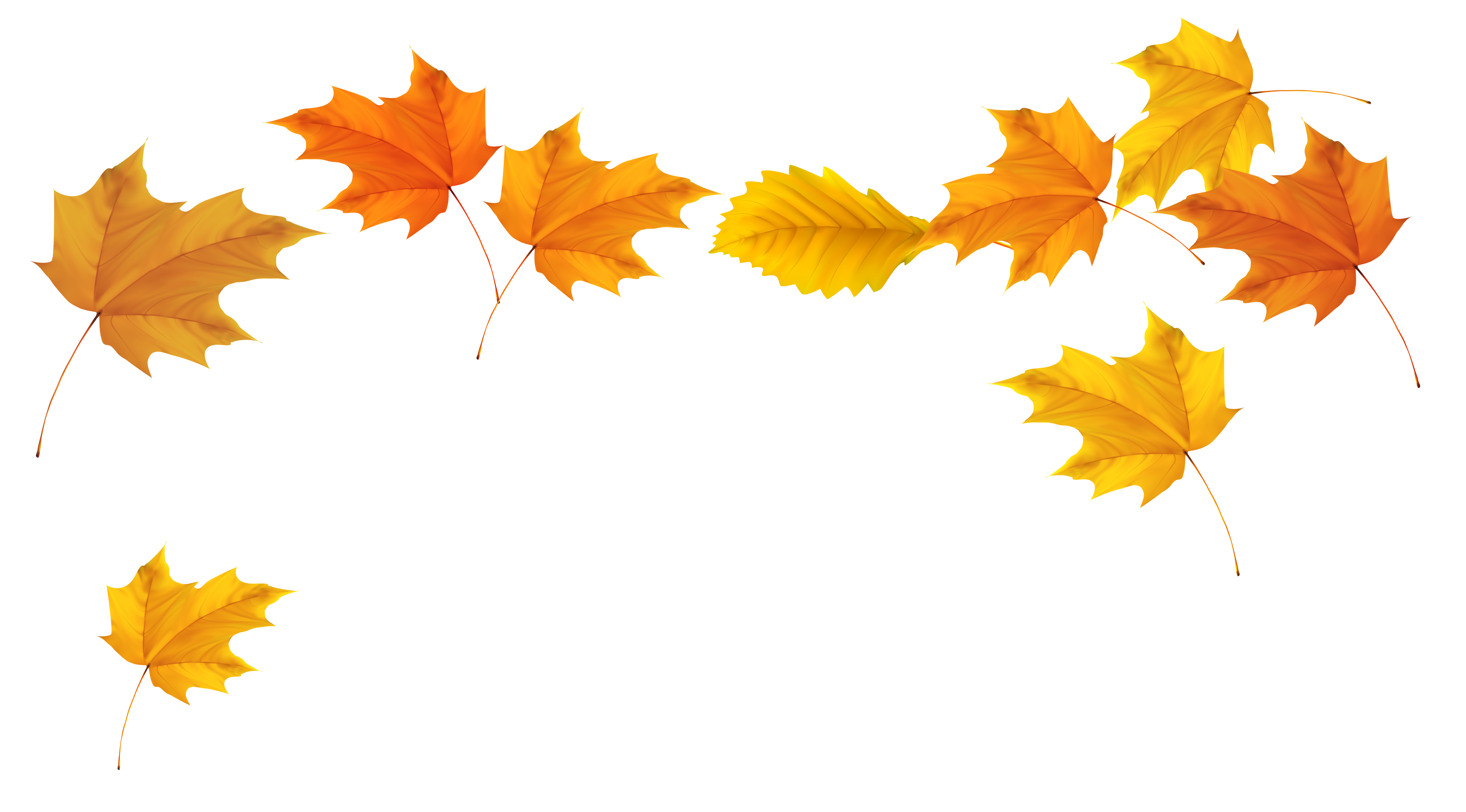 Fall clip art download. Free clipart autumn leaves