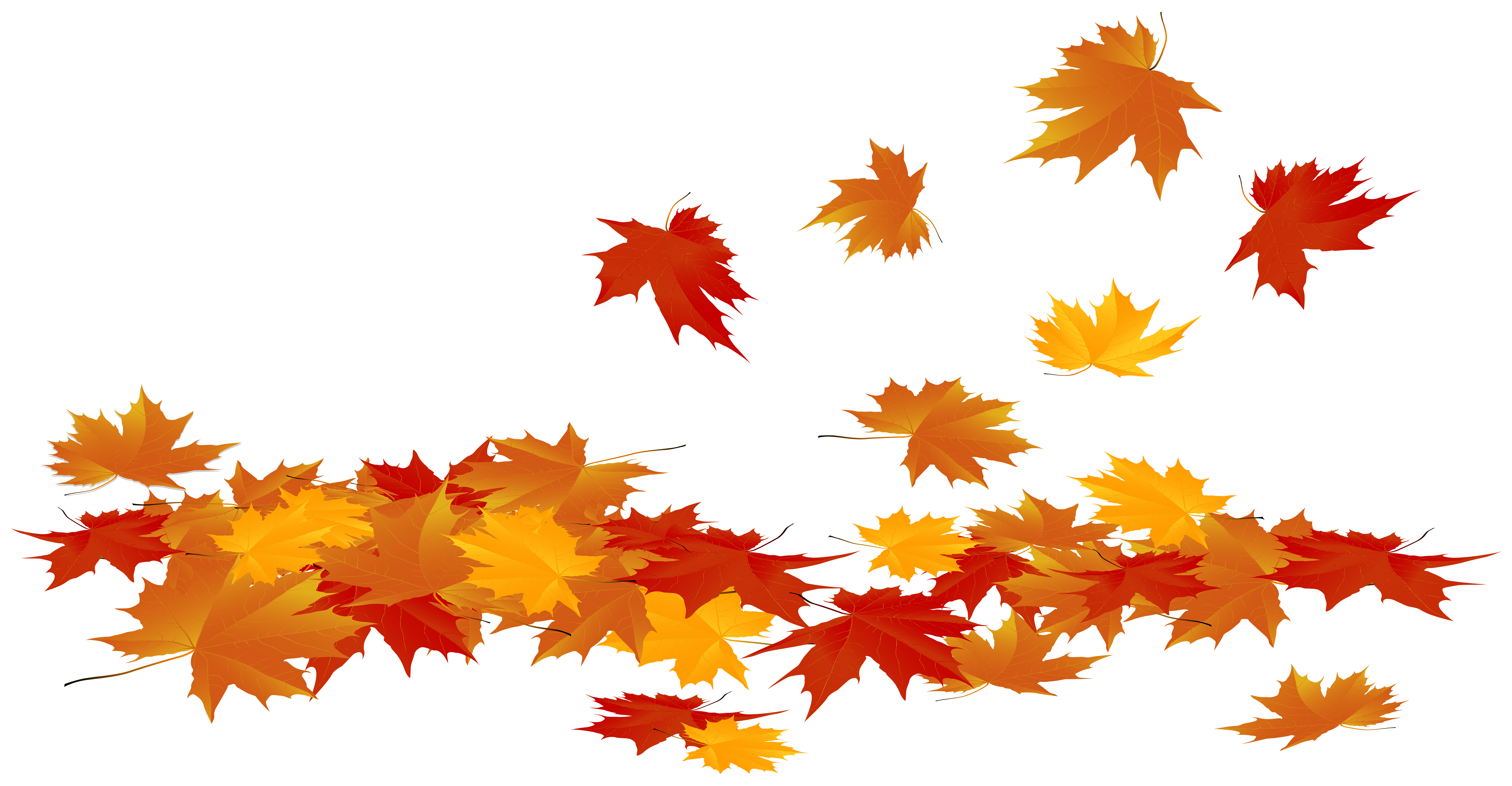 Fall leaves clipart png stock Fallen Autumn Leaves PNG Clip Art Image | Gallery Yopriceville ... stock