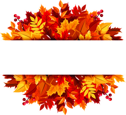 Fall leaves clipart vector graphic transparent library Free vector autumn leaves free vector download (4,572 Free vector ... graphic transparent library