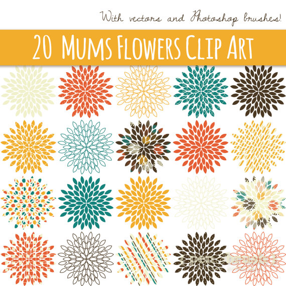 Fall mums clipart graphic royalty free download Pin by HOOPLA Celebrations on Chinese New Year theme party ideas ... graphic royalty free download
