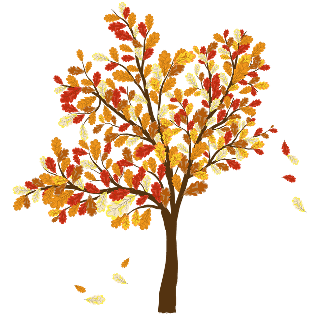 Fall season clipart images vector black and white stock Colorful Clip Art For The Fall Season | clipart | Autumn trees, Tree ... vector black and white stock