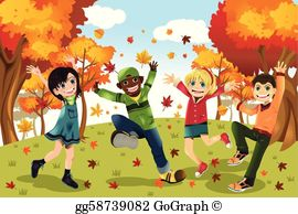 Fall season clipart images png transparent Fall Clip Art - Royalty Free - GoGraph png transparent