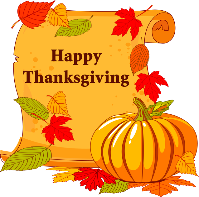 Thanksgiving scroll banner clipart picture free stock 2013 Thanksgiving Clip Art: Happy Thanksgiving Scroll | holiday ... picture free stock