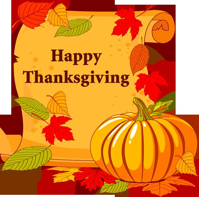 Scroll pumpkin clipart banner library library 2013 Thanksgiving Clip Art: Happy Thanksgiving Scroll | holiday ... banner library library