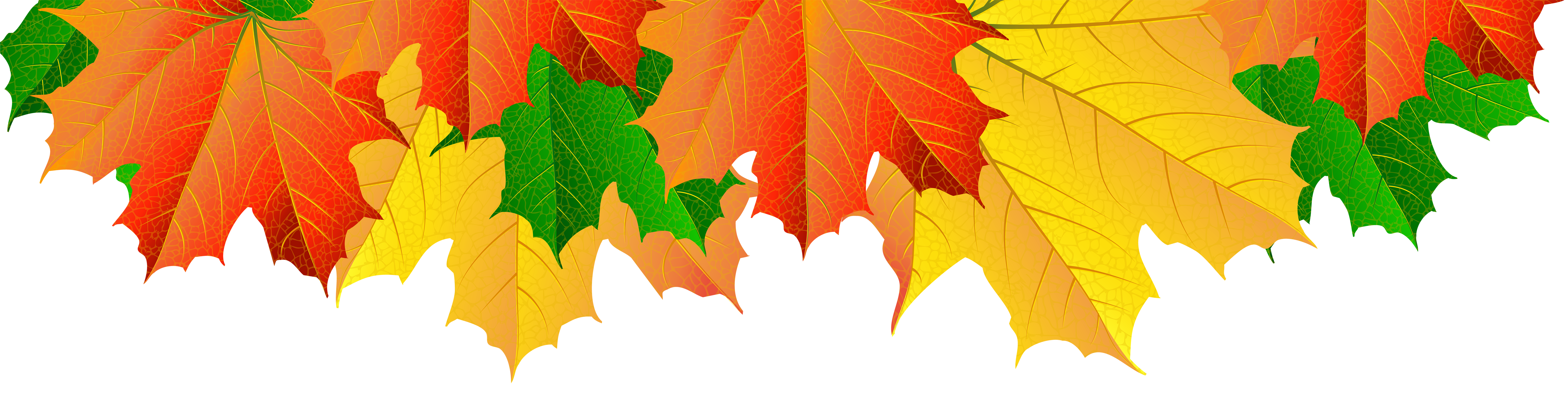 Fall tree border clipart picture library download Fall Leaves Border PNG Clip Art Image | Gallery Yopriceville - High ... picture library download