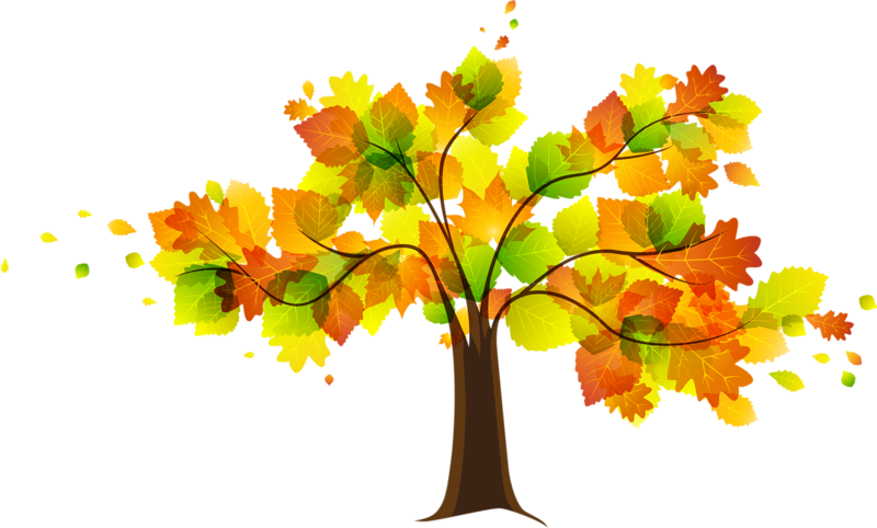 collection of free. Fall tree clipart