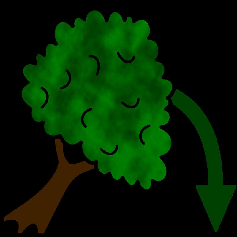 Fallen tree clipart clip stock Symbol Verbs F - TalkSense clip stock