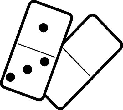 Falling dominoes clipart svg royalty free library Falling Dominoes Clip Art free image svg royalty free library