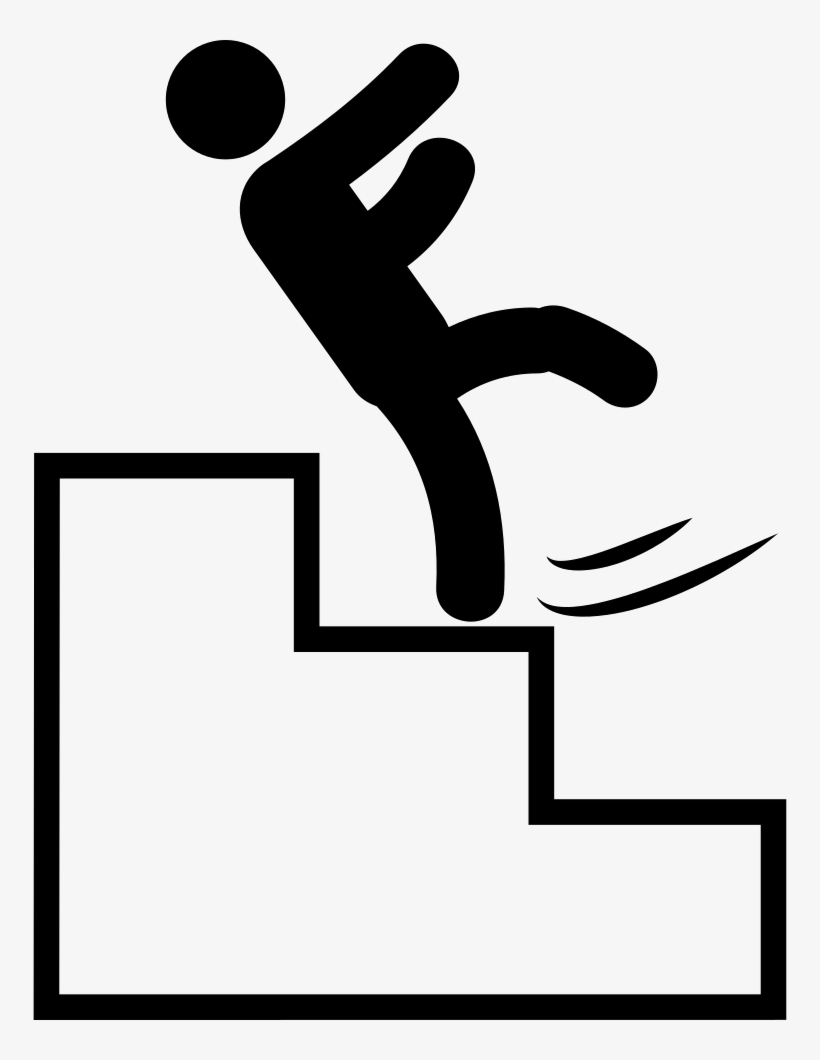 Falling down stairs clipart svg transparent Png File Svg - Falling Down The Stairs Clipart Png - 754x980 PNG ... svg transparent