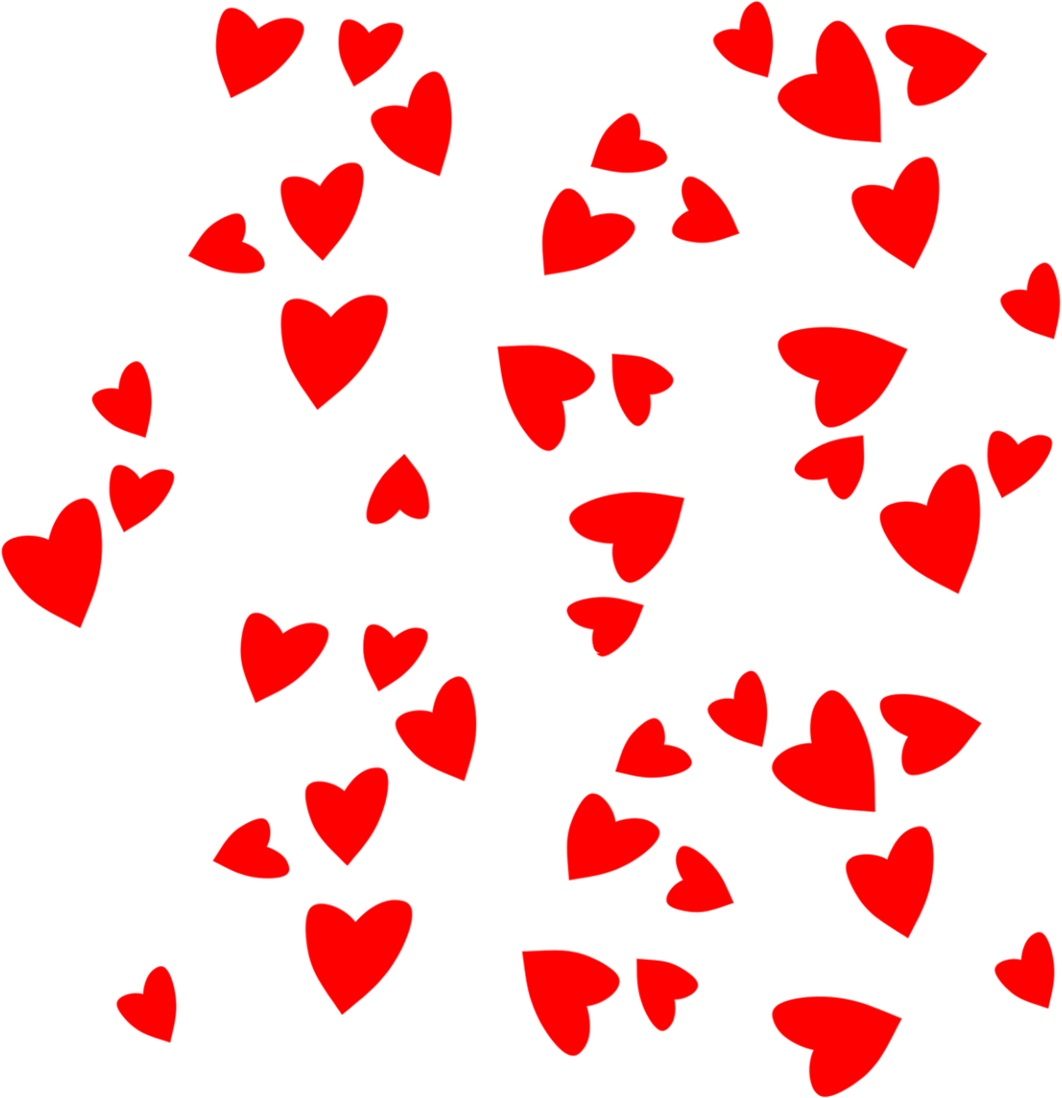 Clipart christmas cross clipart transparent library Falling in love clipart hearts - ClipartFest clipart transparent library