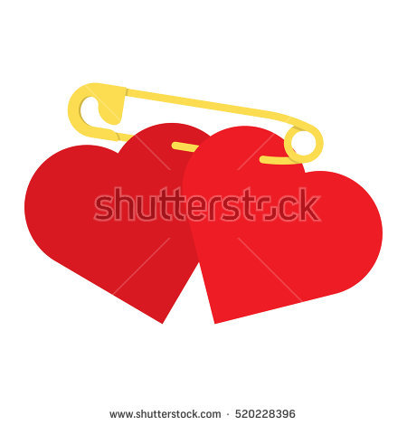 Falling in love clipart hearts clip Couple Falling In Love Stock Vectors, Images & Vector Art ... clip